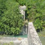Καλόβρυση Ιωαννίνων . Γέφυρα Μέρτζιανης (ανατινάχτηκε από τους Έλληνες )