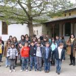 μπροστά από την είσοδο στο Mουσείο Ελληνικής Ιστορίας-Παύλου Βρέλλη